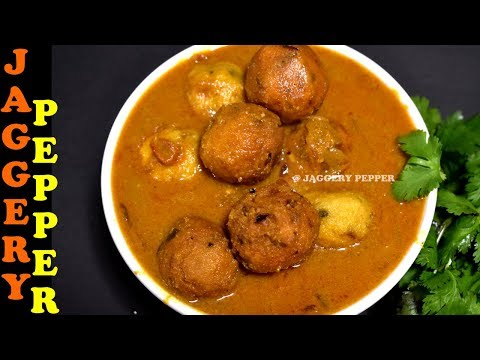 Paruppu Urundai Kuzhambu Recipe / Urundai Kulambu Recipe / South Indian Kulambu Recipes