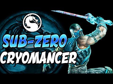 "Mortal Kombat X: INTENSE CRYOMANCER SUB ZERO MATCHES - Mortal Kombat XL ""Sub Zero"" Gameplay"