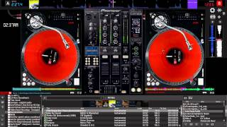 Virtual DJ 8 - Mouse & Keyboard Scratch Freestyle Session