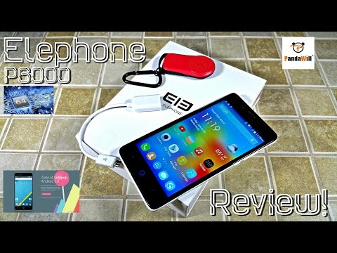 Elephone P6000 - [Review] - MTK6732 64Bit - 5.0