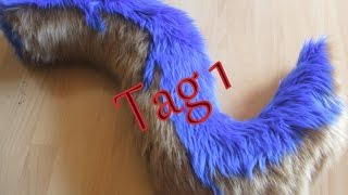 How to build a Fursuit Tail (Tutorial) - Basics & richtiger Zuschnitt