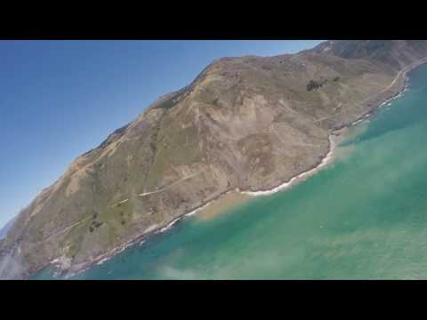 Mud Creek landslide, Big Sur 5/21