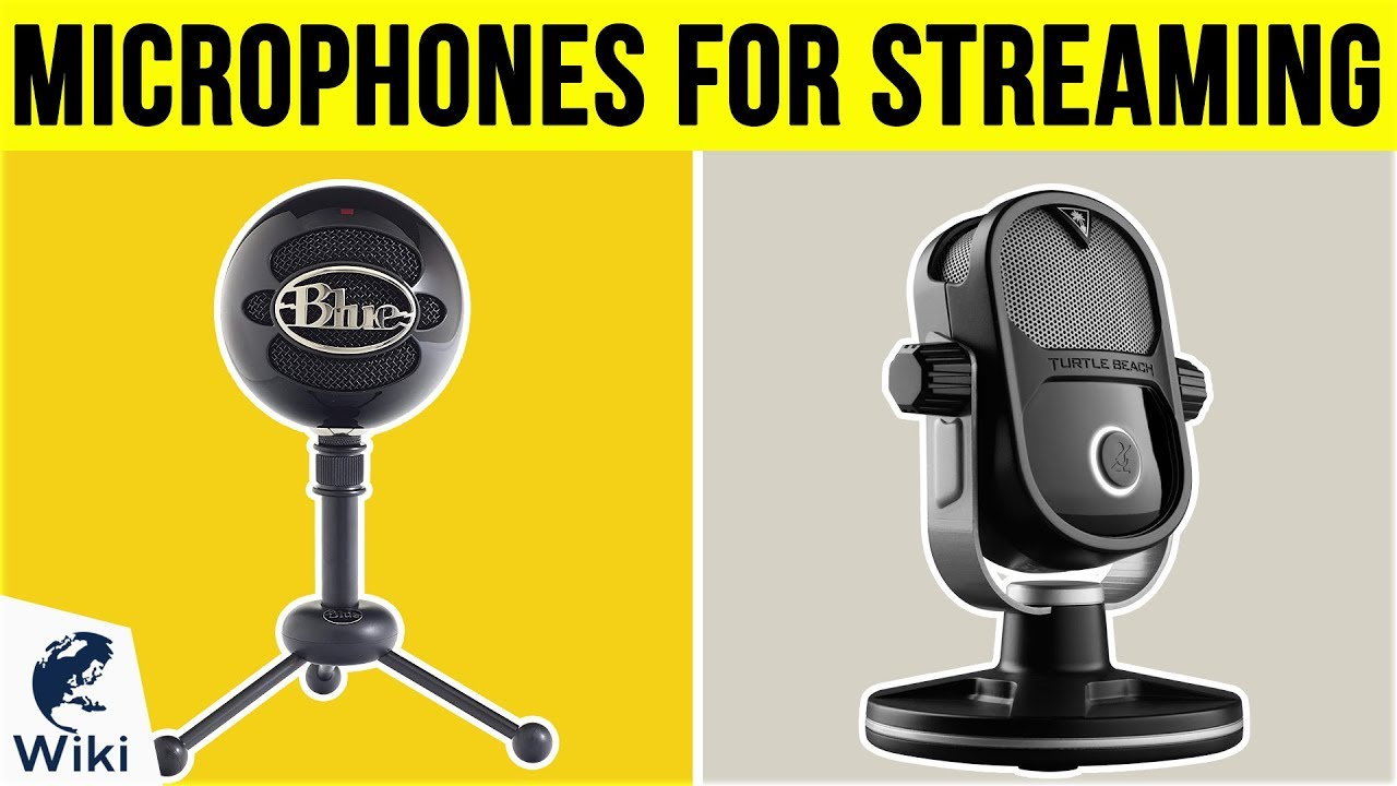 10 Best Microphones For Streaming 2019