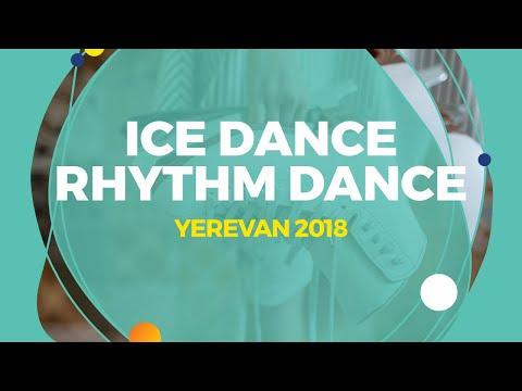 Kazakova Maria / Reviya Georgy (GEO) | Ice Dance Rhythm Dance | Yerevan 2018