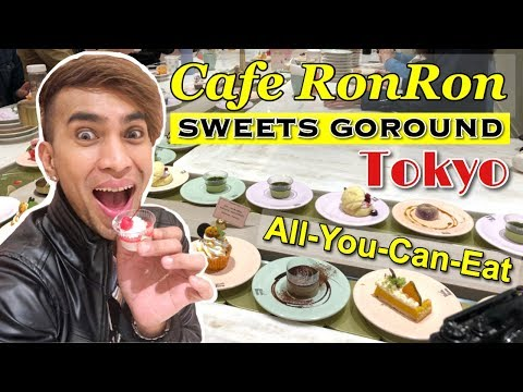 Cafe Ron Ron | Maison Able | Sweets GoRound | All-You-Can-Eat | Harajuku Tokyo Japan