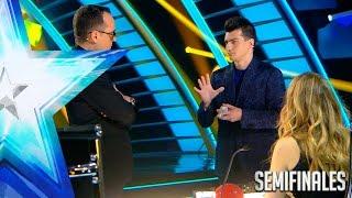 Raymon nos ofrece un truco de magia... elevado al cubo | Semifinales 2 | Got Talent España 2017