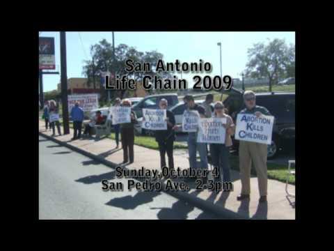Life Chain 2009 San Antonio tv ad