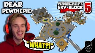 Dear PewDiePie... *THIS* is How You Play Skyblock (Minecraft Skyblock #5)