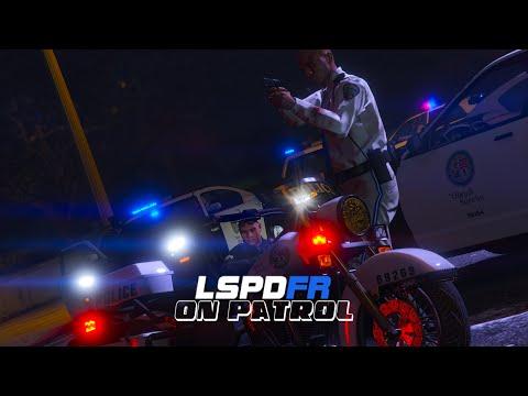 LSPDFR - On Patrol - Day 4 - Motorcycle Patrol