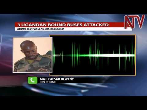 3 Uganda bound buses attacked on Juba-Nimule highway in South Sudan