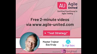 Teststrategy - Testing in an Agile Context