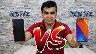 Xiaomi Redmi 6 Pro Vs Redmi Note 5 Pro Comparision !! Specification Detail Comparision , HINDI