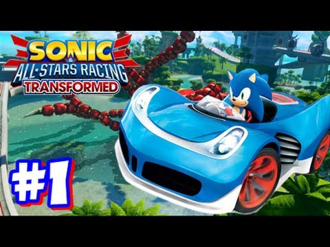 Sonic & All Stars Racing Transformed Wii U - World Tour - Part 1