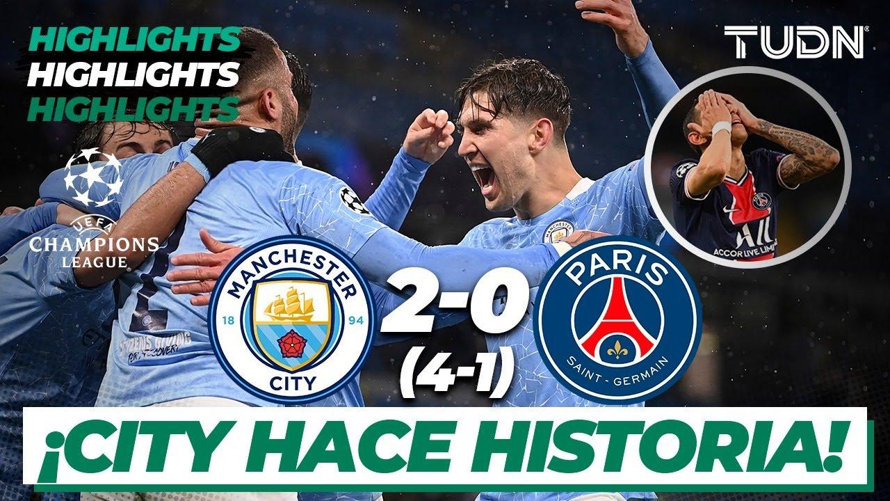 Highlights   Man City 2(4)-(1)0 PSG   Champions League ...