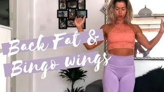 BINGO WINGS WORKOUT || GET RID OF FLABBY TRICEPS AND BACK FAT|| BODY WEIGHT ARM WORKOUT