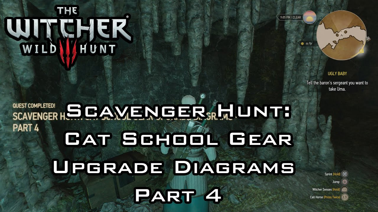 Cat School Gear Part  Quest Start