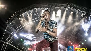 Humblesmith performing at the Star Music Trek Owerri 2016