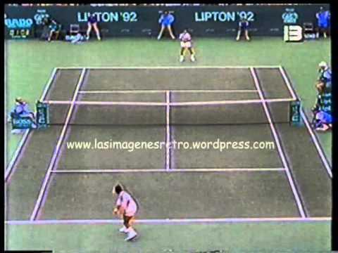 Alberto Mancini vs Michael Chang (Final Lipton 1992 - Canal 13)