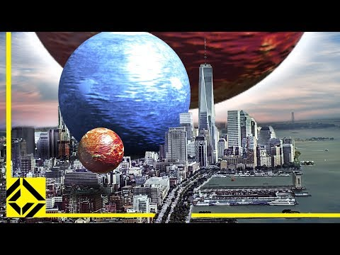 VFX Artist Reveals the True Scale of the Universe