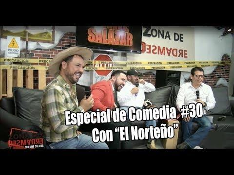 """Mike Salazar - ZONA DE DESMADRE con Edson Zúñiga """"El Norteño"""""""