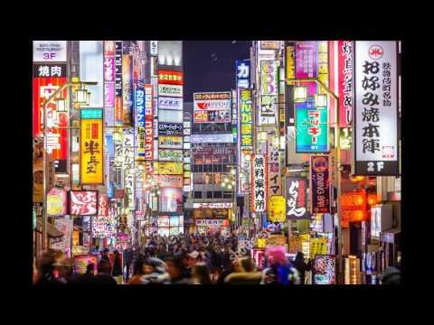 Tokyo Night - Japanese Instrumental Vaporwave / Chillwave Mix - ji2kia