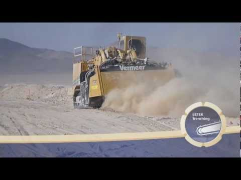 BETEK Trenching: Surface Mining in salt mine at South America with BETEK - Tools made in Germany