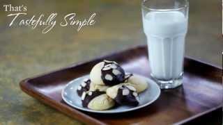 Chocolate Almond Pound Cake Cookies