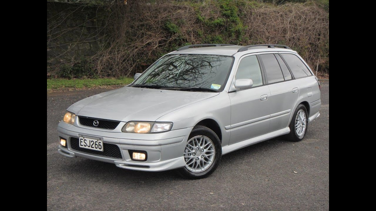 1998 mazda capella wagon $no reserve!!! $cash4cars$cash4cars