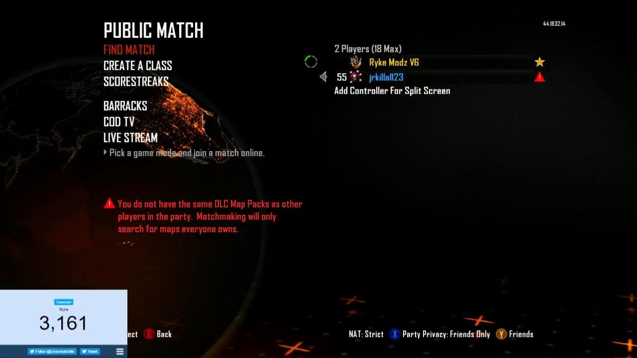 black ops 2 dlc matchmaking