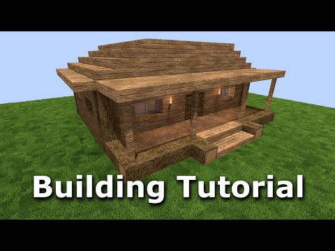Crafting Xe House Minecraft Building Tutorial