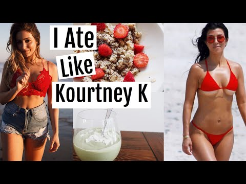 Trying Kourtney Kardashian's Diet 2018 Gluten free, Dairy Free!