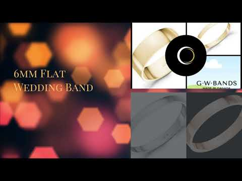 Difference Between A  Flat Wedding Band