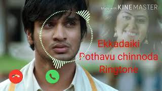 telugu ringtones   meri jaan Ringtone   Ekkadiki pothavu chinnoda movie ringtone2021