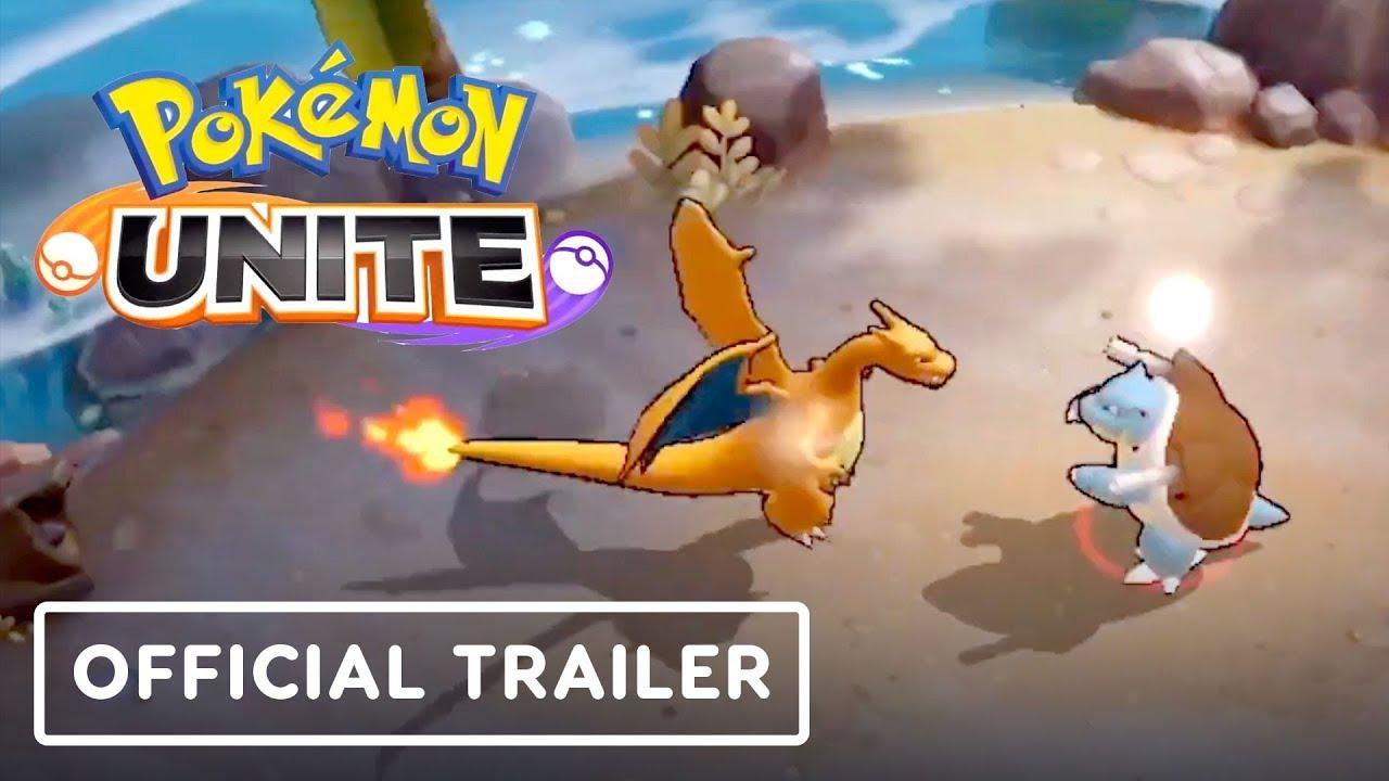 Pokemon Unite Official Trailer - YouTube