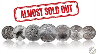 Physical Silver Bullion in Short Supply as Coin Shops & Dealers Scramble to Fill Orders