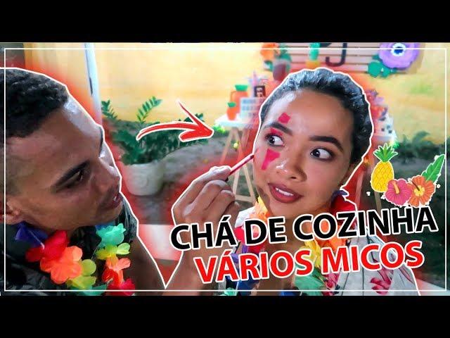 CHÁ DE COZINHA TROPICAL | decoração, micos e muito mais
