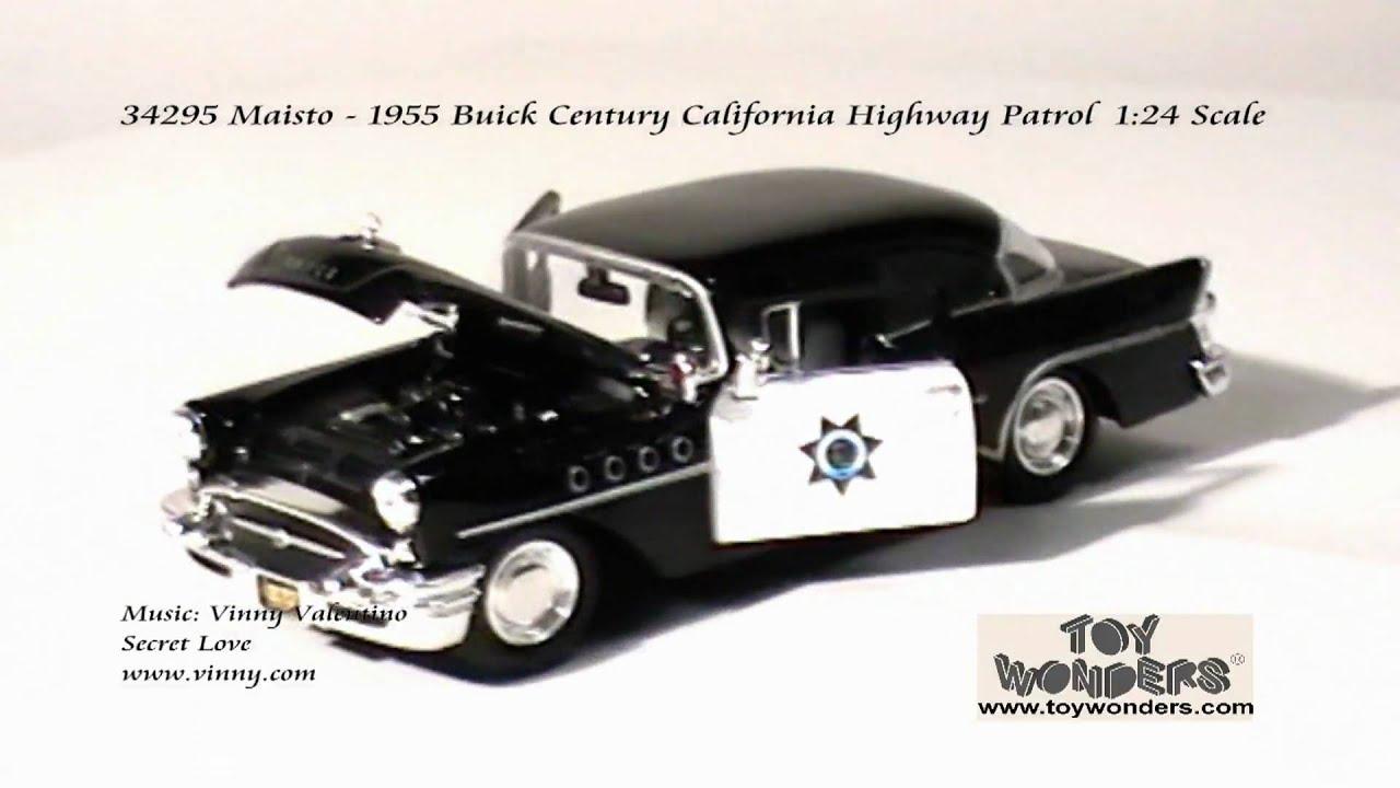 34295 Maisto 1955 Buick Century California Highway Patrol