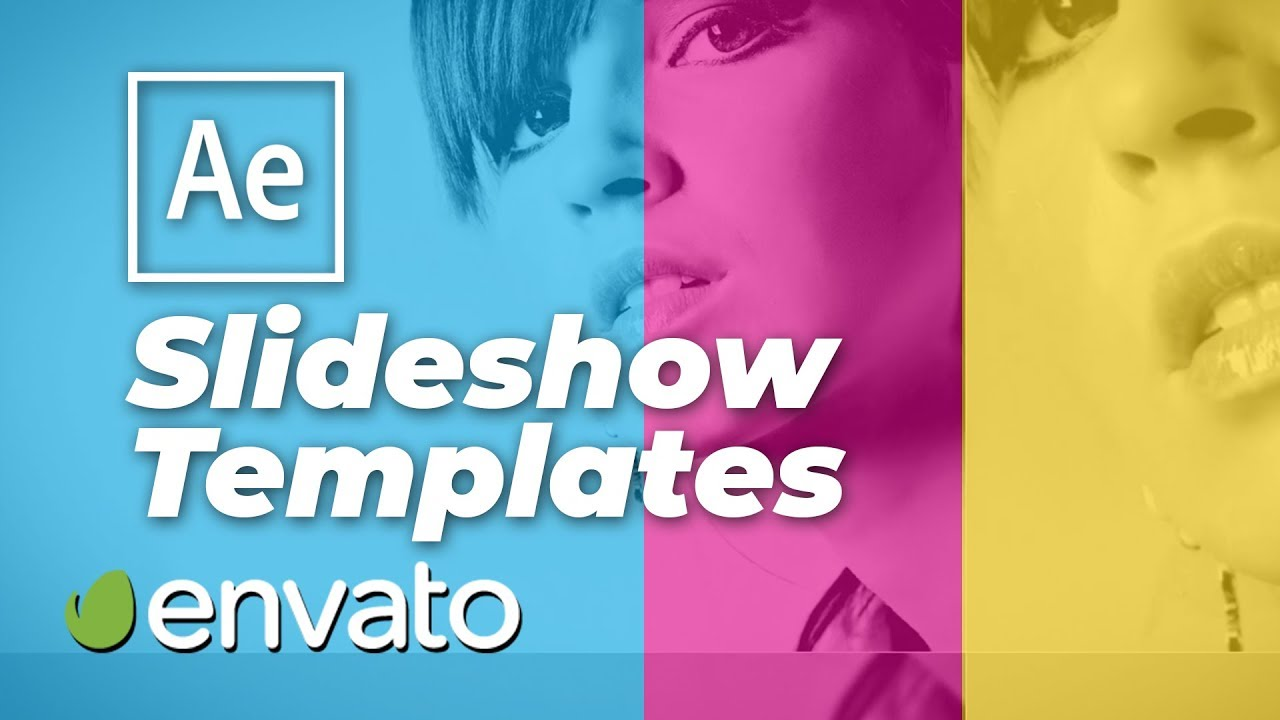 after effects slideshow templates videohive youtube