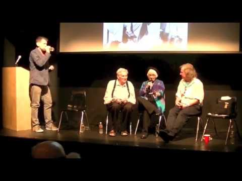 Cassady panel at Beat Shindig with Jami Cassady, Al Hinkle, Brian Hassett, hosted by Levi Asher