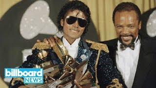 Quincy Jones Awarded $9.4 Million in Trial Against Michael Jackson's Estate | Billboard News thumbnail