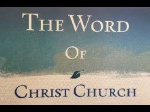 The Word of Christ Church 2018-07-01 Prophecies and Fulfilments