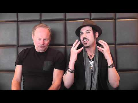 Cutting Crew & Blurred Vision Unite For UK Tour - Exclusive Video Interview