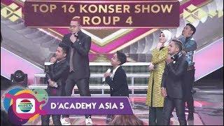 Keren!!! Luv Indosiar 25 Challenge Bersama Betrand Peto Putra Onsu - D'Academy Asia 5