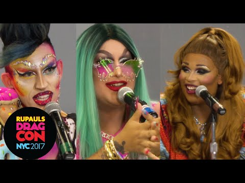 Acid Betty, Peppermint & Horrorchata: The Real Queens of New York at RuPaul's DragCon NYC 2017
