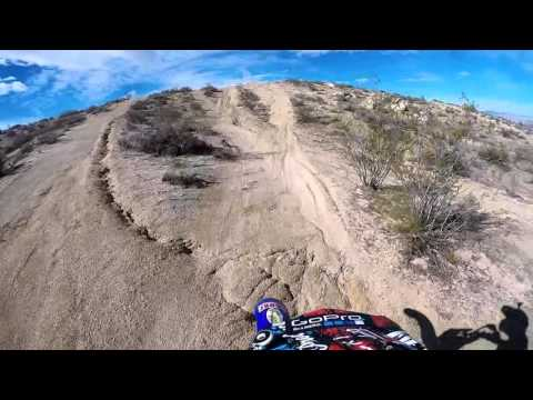 Exploring Edwards, CA OHV on a Dirt bike Part I GoPro