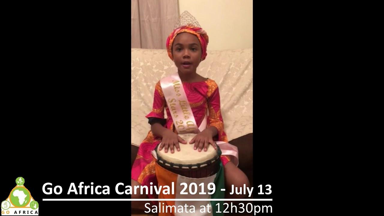 Salimata - Go Africa Carnival 2019 - July 13 at 12h30pm Harlem NYC