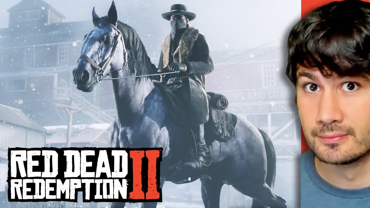 Sobrevivi Uma Emboscada No Red Dead Redemption II