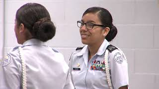 Crooked Oak students find purpose, precision, and passion in JROTC