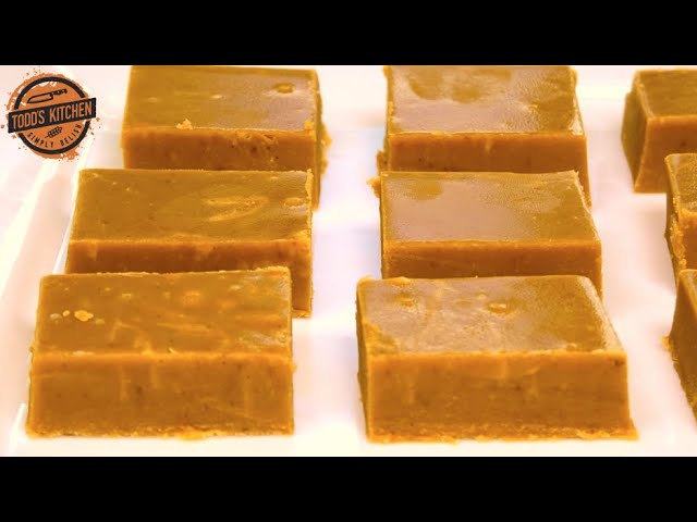 How To Make Caramel Fudge With Sweetened Condensed Milk 4k Youtube