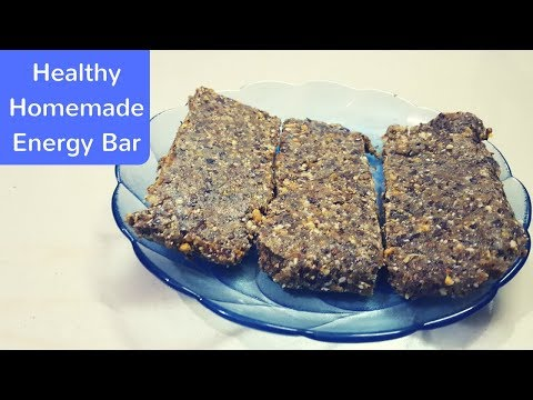 Learn to make Healthy Homemade Energy Bar special for your girlfriend on this Valentine's Day